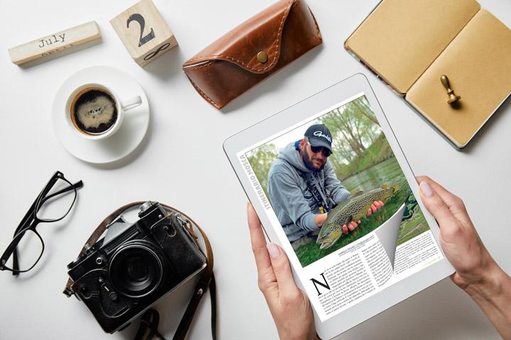 Flipbook HTML5 sul tablet