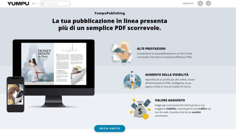 YumpuPublishing è le Issuu alternatives