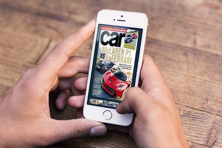 Flip Book libro digitale sul smartphone