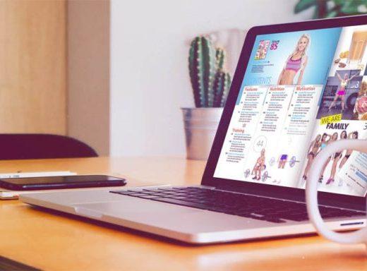 Flipbook Maker sul laptop