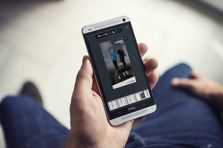 PDF Flip Books sul smartphone